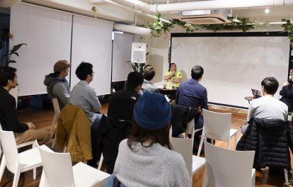 マッハ道場代表の桜井マッハ速人が行うイベント・セミナーの様子